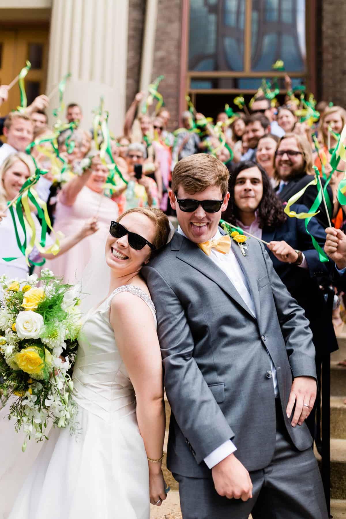 Downtown Presbyterian Church Wedding Ceremony