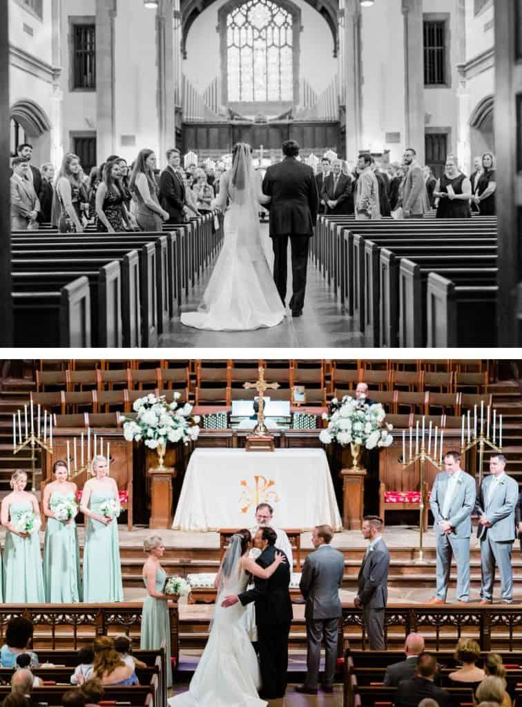 Nashville West End United Methodist Church Wedding Ceremony