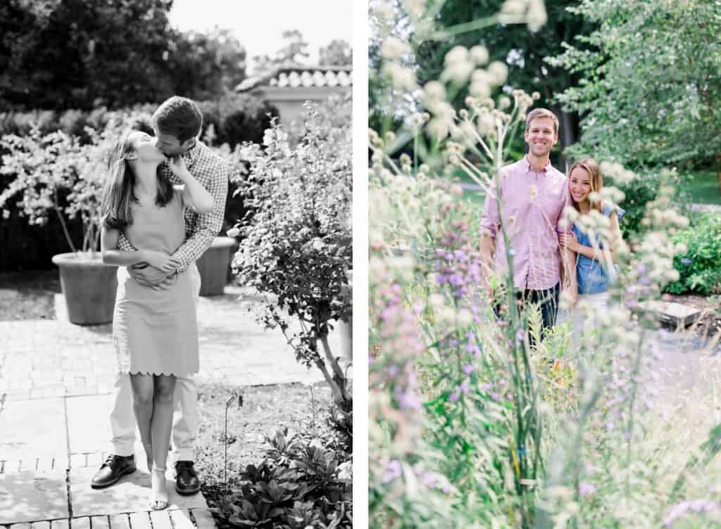 Missouri Botanical Garden Engagement Session, MOBOT Engagement