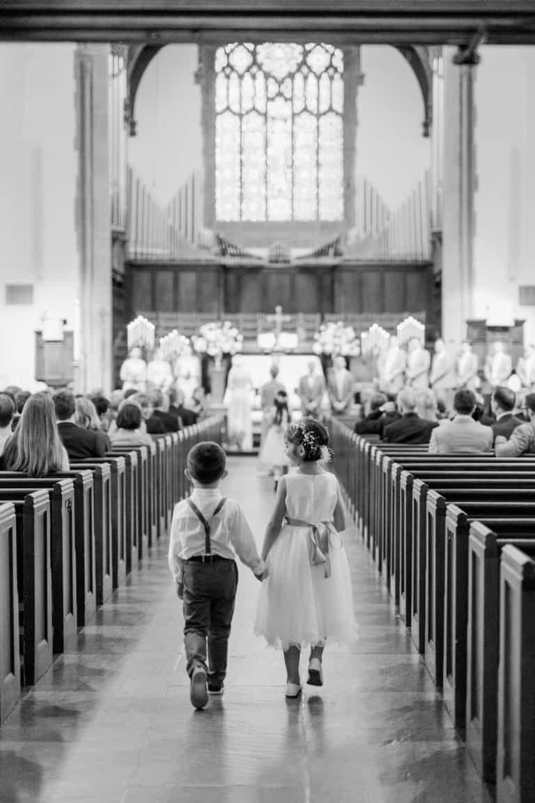 West End United Methodist Church Wedding Ceremony