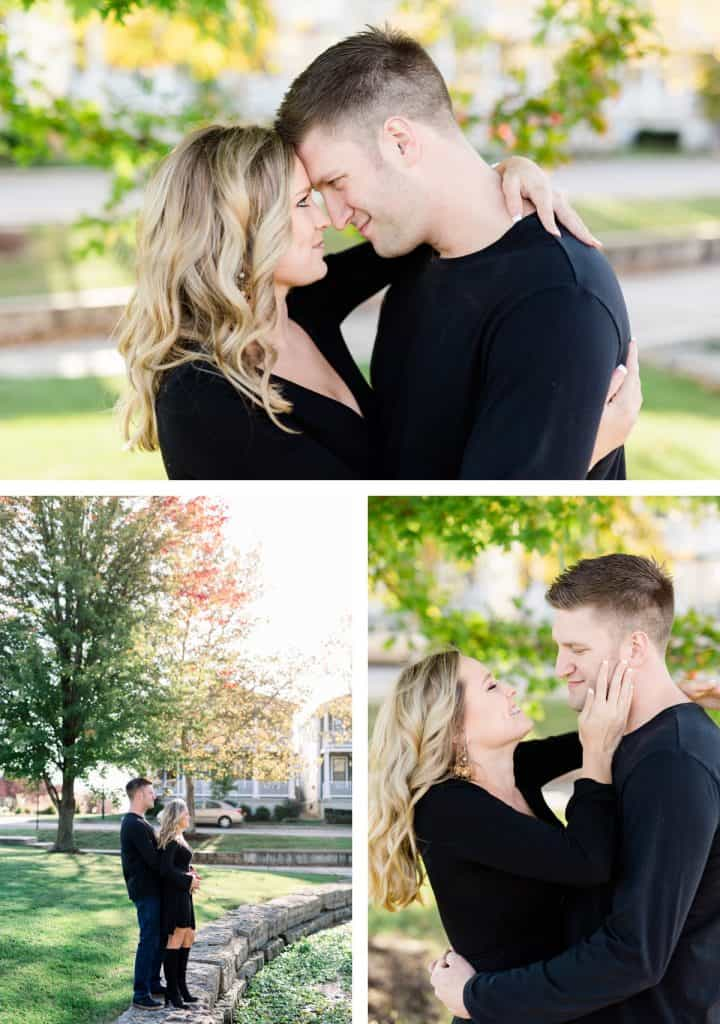 New Town Engagement Session, St. Charles Photographer