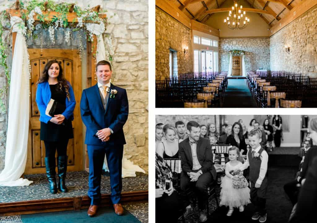 Heart Events Old Stone Chapel Wedding, St. Charles MO